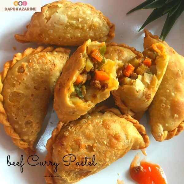 beef curry pastel